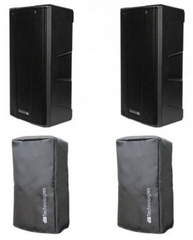 DB Technologies - Pack 2 x BHYPE 15 + housses