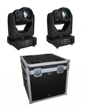 Pack Jb Systems - 2 x CHALLENGER BSW + flighcase