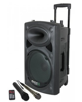 Location Sono Portable 500W MP3/Bluetooth + 2 Micros